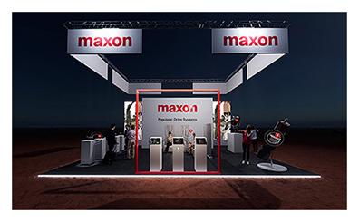 motion control - maxon trade show